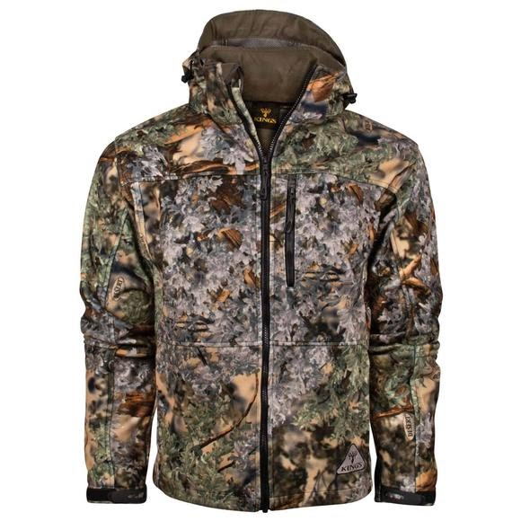 King's Camo Men's Wind Defender Hunter Fleece Jacket (Extended Sizes) Image