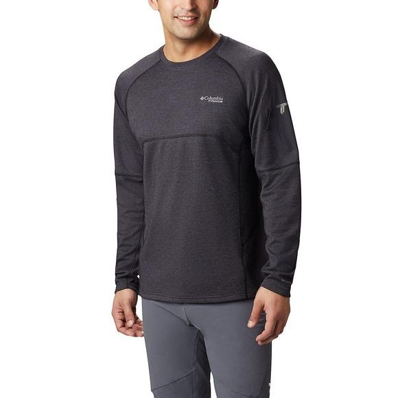 Columbia Men's Mount Defiance Crew Neck Long Sleeve Shirt Image