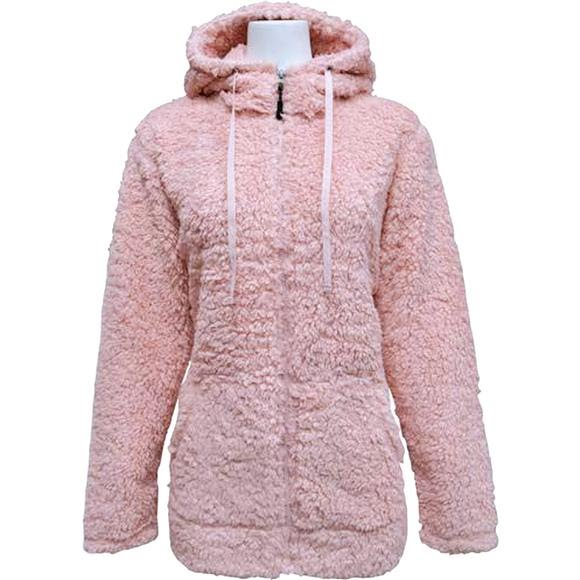 Pacific Teaze Women's Super Soft Sherpa Hoody Image