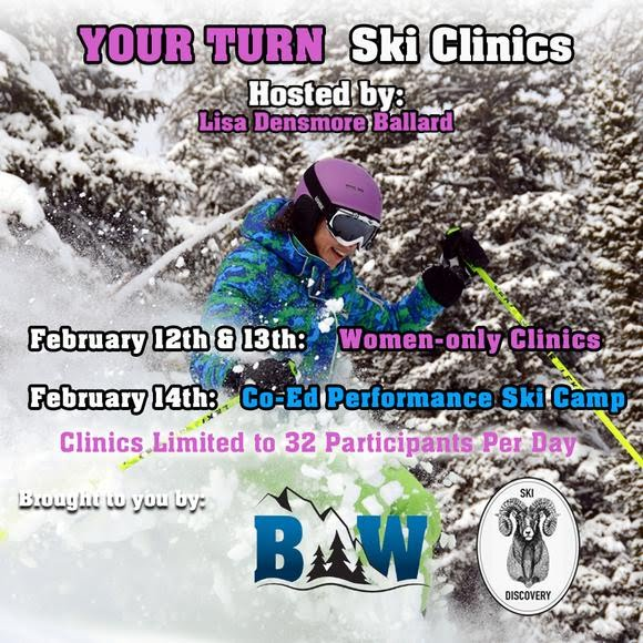 Your Turn Ski Clinic Registration Image