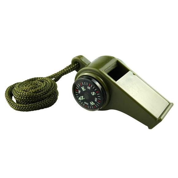 Sona Enterprises 3-in-1 Compass Whistle with Thermometer Image