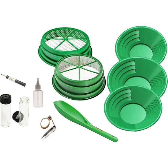 Sona Enterprises 11-Piece Gold Panning Kit Image
