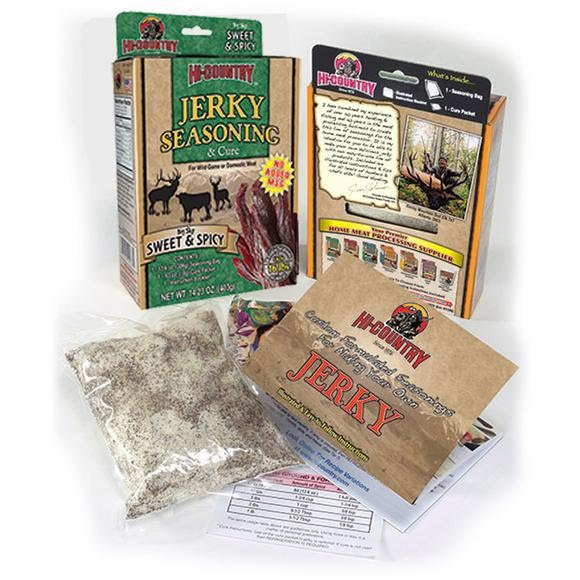 Hi Country Sweet and Spicy Jerky Seasoning Kit Image