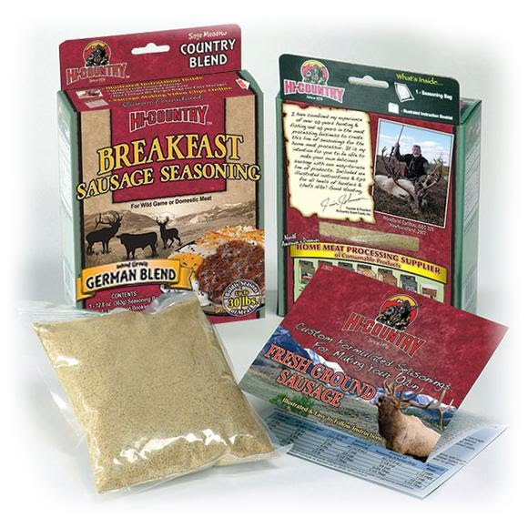 Hi Country German Blend Breakfast Sausage Seasoning Kit Image