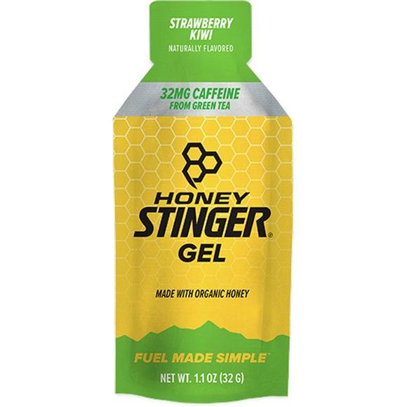 Honey Stinger Strawberry Kiwi Caffeinated Organic Energy Gel Image