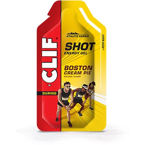 Clif Bar Boston Cream Pie SHOT Energy Gel Image
