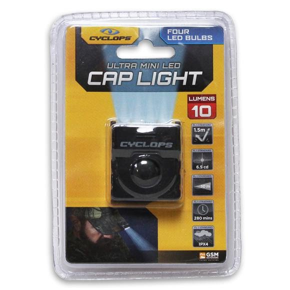 Cyclops Ultra Mini LED Cap Light Image
