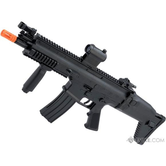 Evike Cybergun SCAR-L Licensed Spring Powered Airsoft Rifle Image