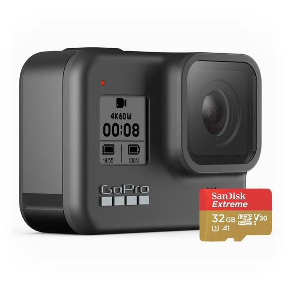 Gopro Hero 8 with 32 GB SD Card Image