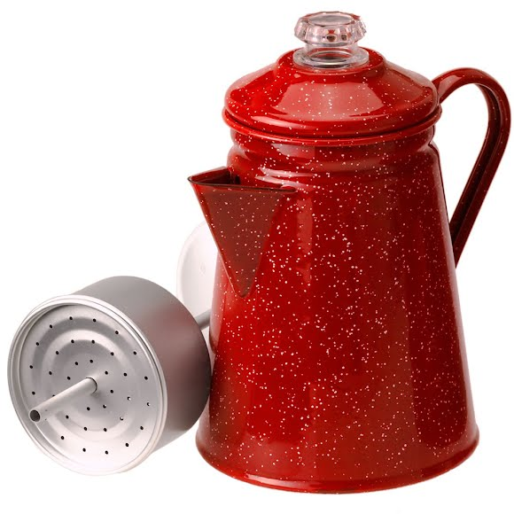 Gsi Outdoors 8 Cup Enamelware Percolator Image