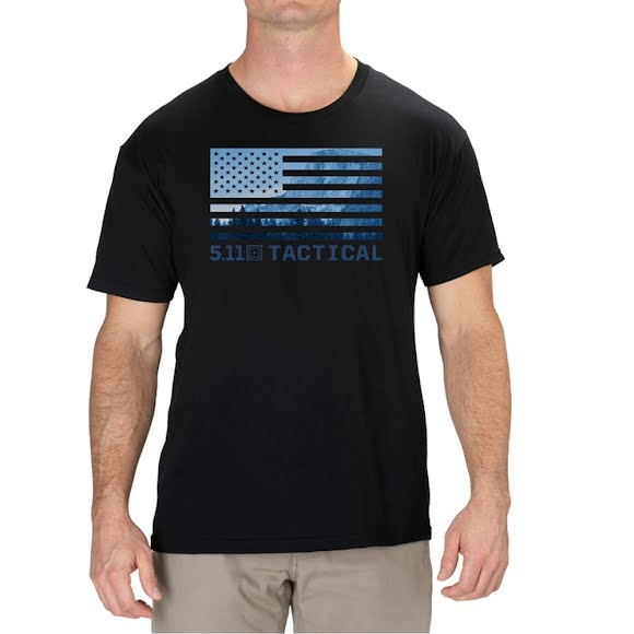5.11 Tactical America The Beautiful Tee Image
