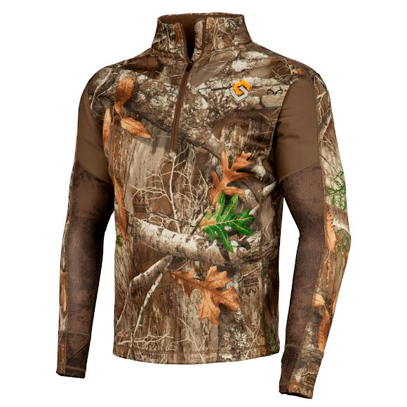 Scent Lok Men's Baseslayers AMP Midweight Shirt (Extended Sizes) Image