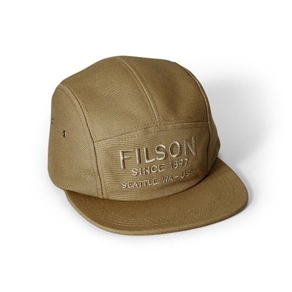 Filson Cotton Canvas 5-Panel Cap Image