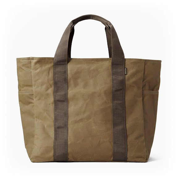 Filson Large Tin Cloth Grab 'n' Go Tote Bag Image
