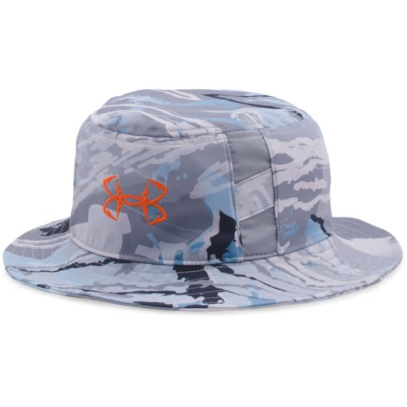 Under armour boy s youth fish hook bucket hat for Under armor fishing hat