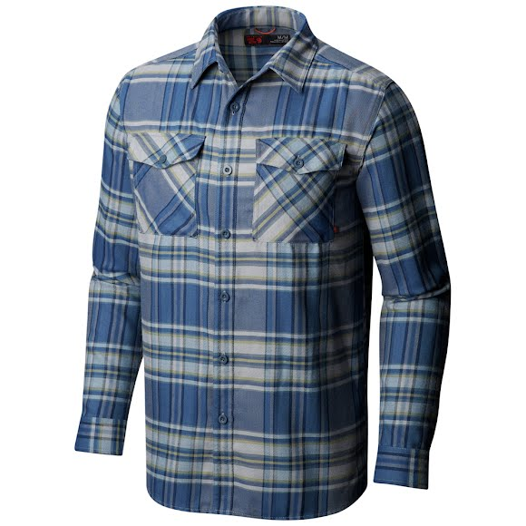 Mountain Hardwear Men's Trekkin Flannel Long Sleeve Shirt Image