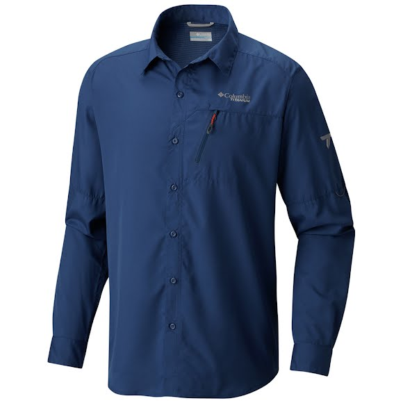 Columbia Men's Northern Ground Long Sleeve Shirt Image