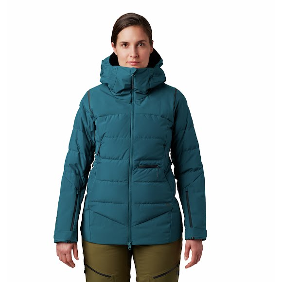Mountain Hardwear Women's Direct North Gore-Tex Infinium Down Jacket Image