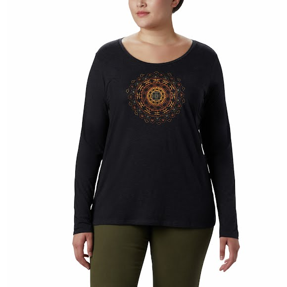 Columbia Women's Anytime Long Sleeve Tee (Extended Sizes) Image