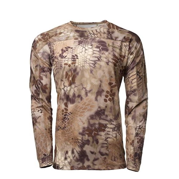 Kryptek Apparel Men's Valhalla Long Sleeve Crew Shirt (Extended Sizes) Image