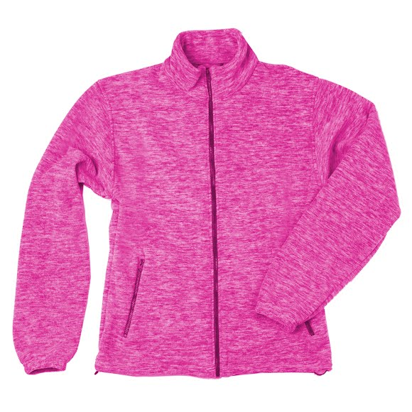Trail Crest Kids Heathered Chambliss Fleece Jacket Image
