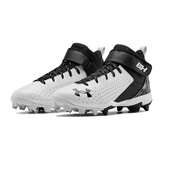 Under Armour Youth Boy's UA Harper 5 Mid RM Jr. Baseball Cleats Image