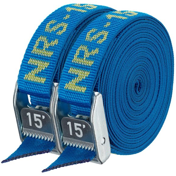 Nrs 1 Inch HD Tie-Down Straps (15 Feet, Pair) Image