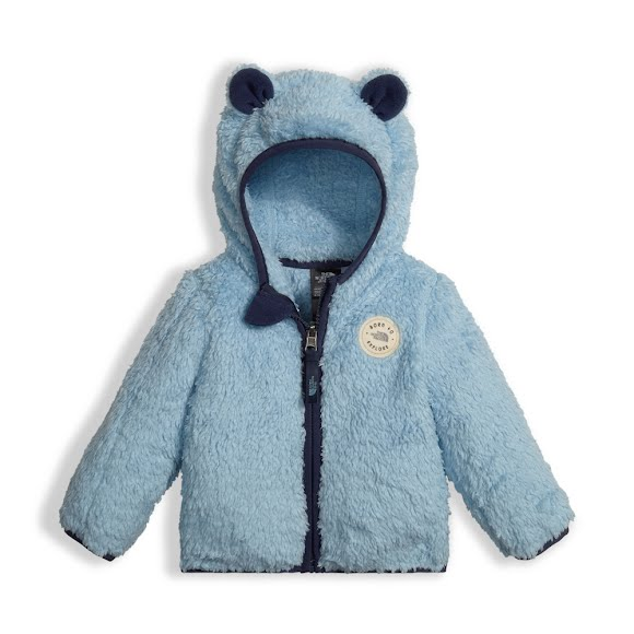 The North Face Infant Plushee Bear Hoodie Image