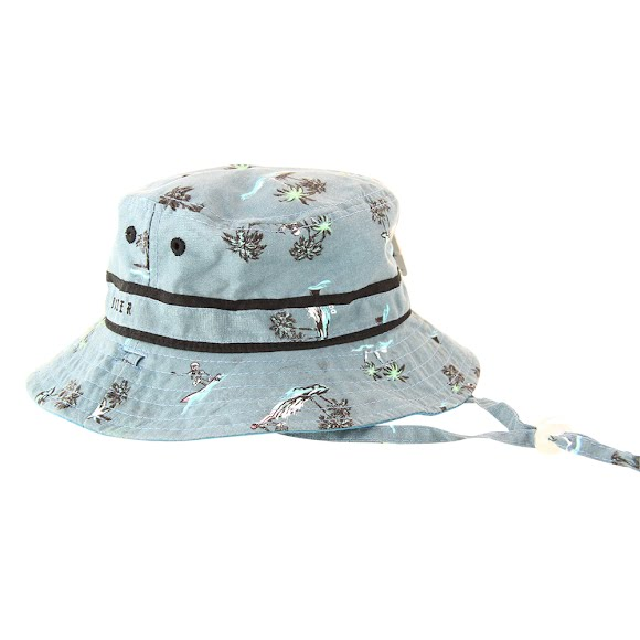 Kooringal Youth Boy's Dozer Bare Bones Bucket Hat Image