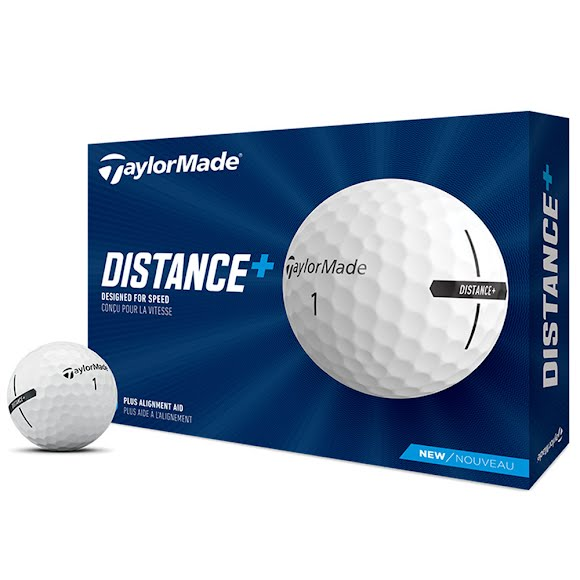 Taylor Made DISTANCE+ Golf Balls Image