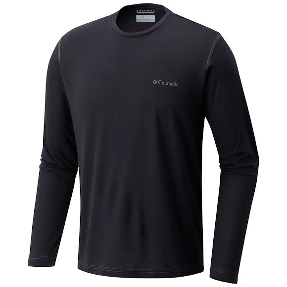 Columbia Men's Thistletown Park Crew Neck Long Sleeve Shirt Image