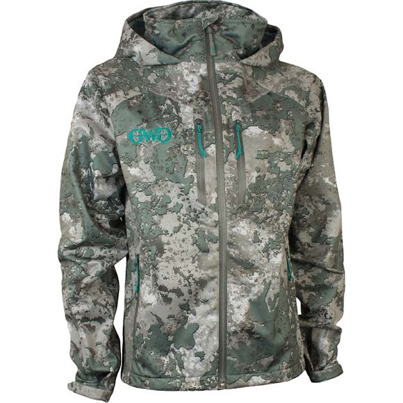 Girls With Guns Women's Rain Jacket Image