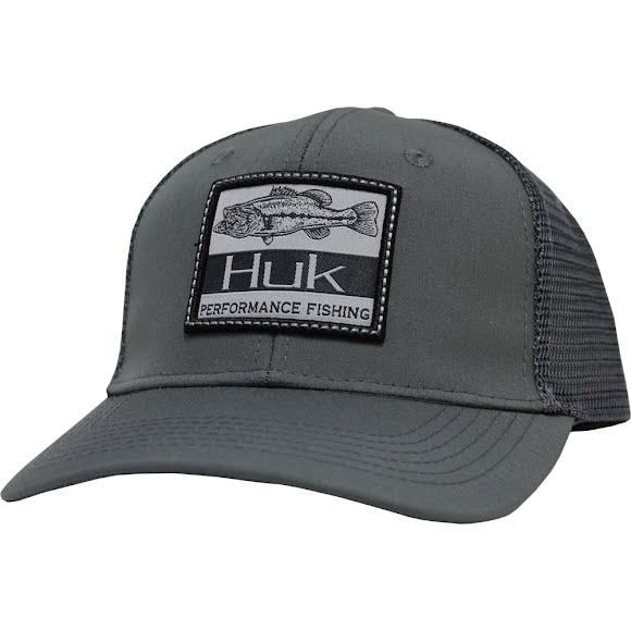Huk Lunker Patch Trucker Cap Image
