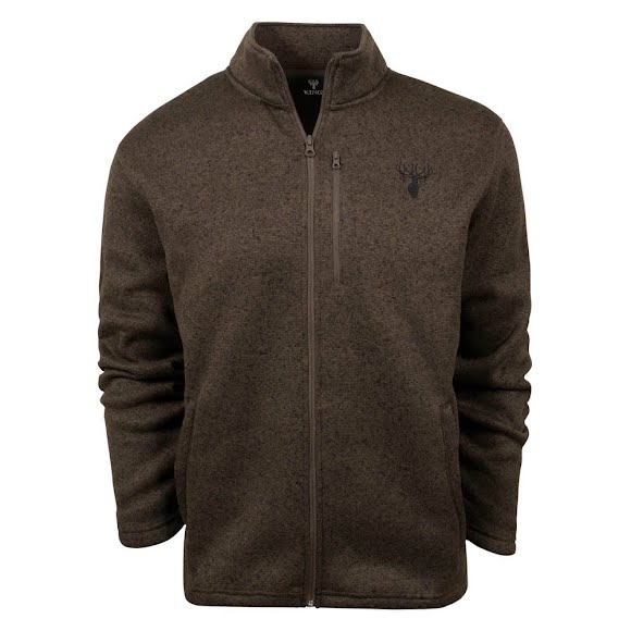 King's Camo Men's King's Lifestyle Full-Zip Sweater Image
