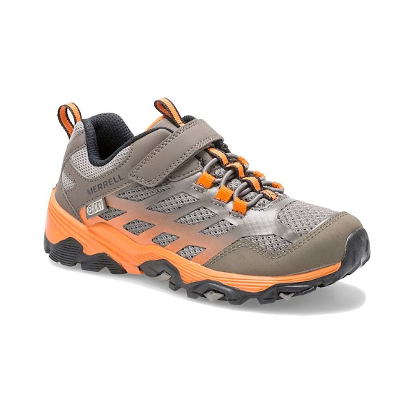 Merrell Big Kid's Moab FST Low A/C Waterproof Sneaker Image