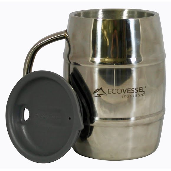 Eco Vessel Double Barrel 32 oz Insulated Beer Mug Image