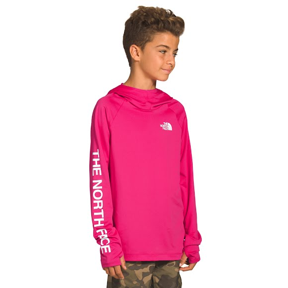 The North Face Youth Long Sleeve Class V Water Hoodie Image