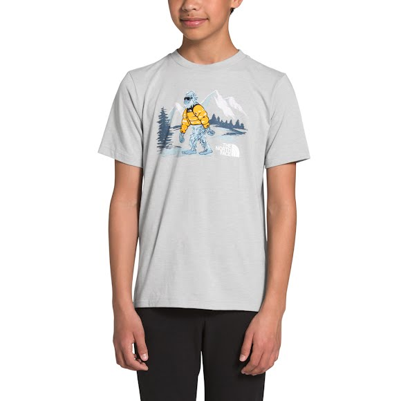 The North Face Youth Tri-Blend Short-Sleeve Tee Image