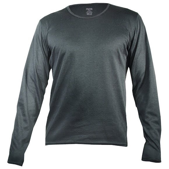 Hot Chillys Mens Pepper Bi-Ply Crewneck Image