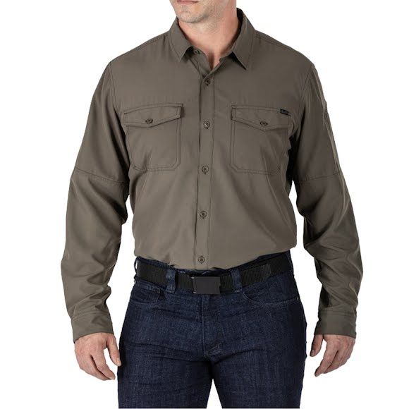 5.11 Tactical Marksman Long Sleeve Shirt UPF 50+ Image