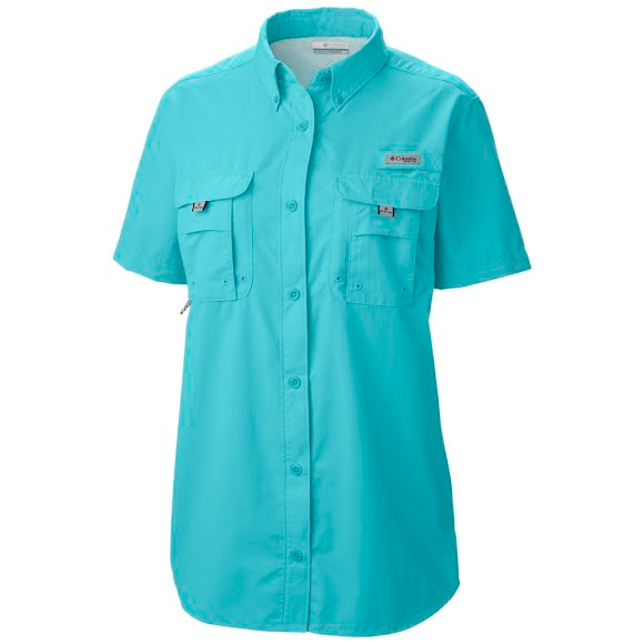 Columbia women s bahama pfg short sleeve shirt extended for Columbia shirts womens pfg