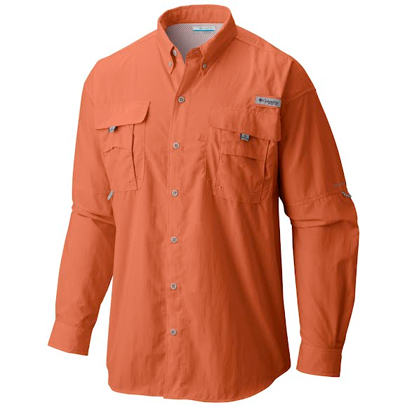 eca507596c2 Columbia Men's PFG Bahama II Long Sleeve Shirt Image