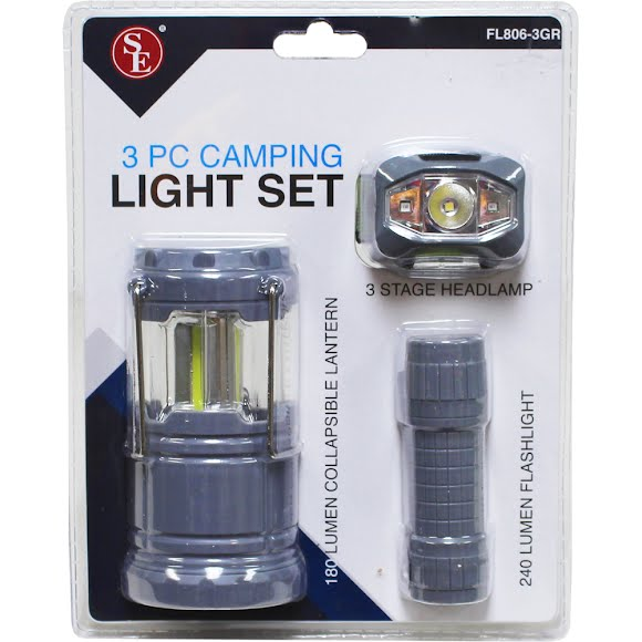 Sona Enterprises 3-Piece Camping Light Set Image
