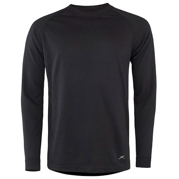 Terramar Mens 2 Layer Authentic Thermal Crew Image
