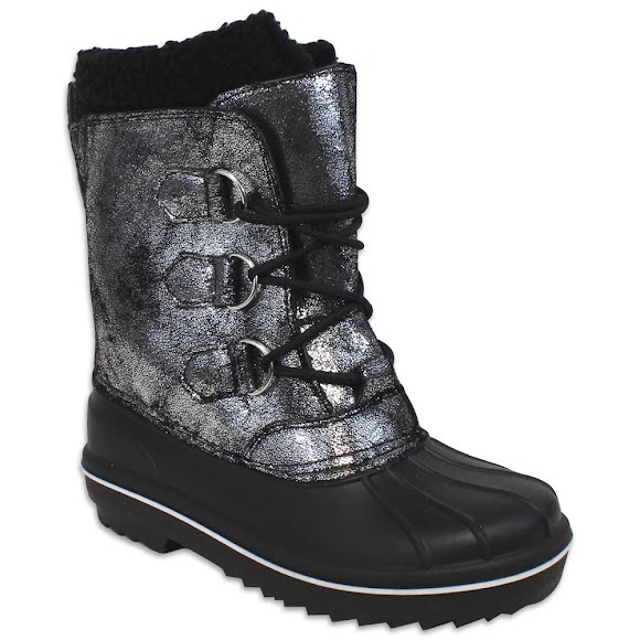 World Famous Girls Youth Shimmer Winter Boots Image