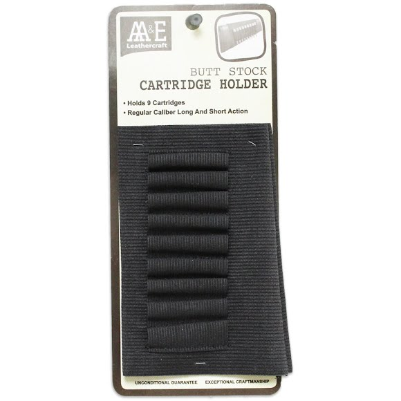 Aa And E Leather Butt Stock Cartridge Holder Image