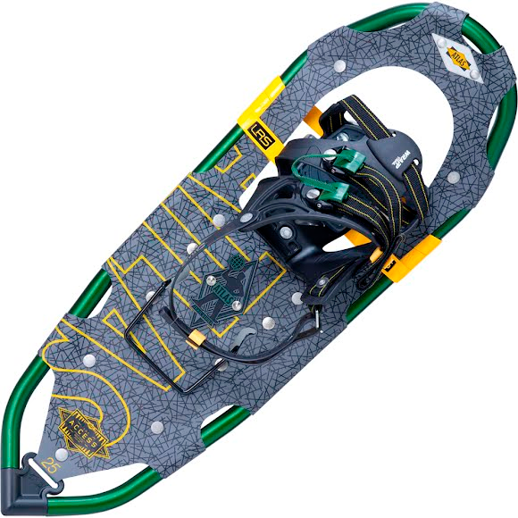 atlas snowshoes how to put on