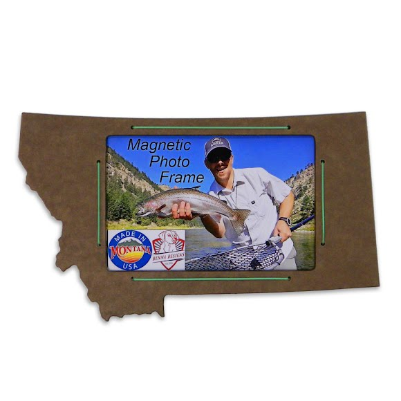 Benna Designs Montana 4x6 Magnetic Picture Frame