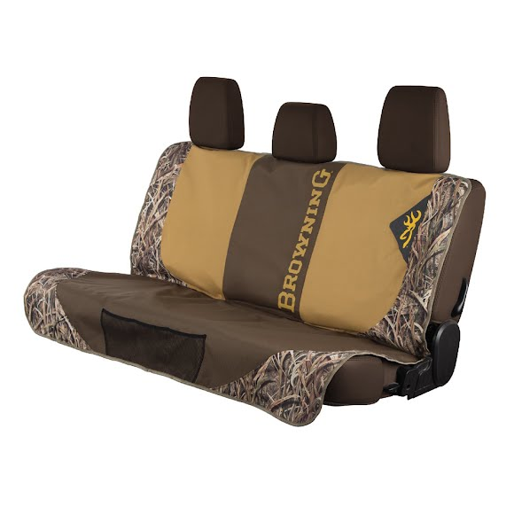 Browning Camo Dog Seat Cover Image