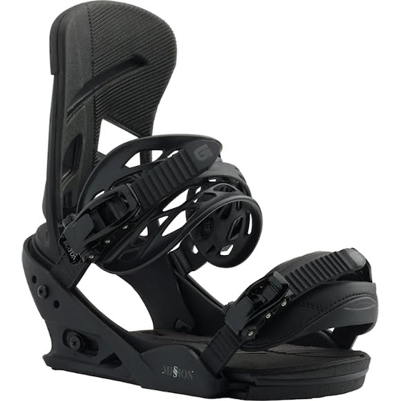 Burton Men's Mission Re:Flex Snowboard Bindings Image